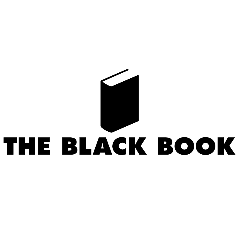 The Black Book vector logo