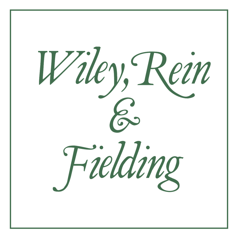 Wiley, Rein & Fielding vector