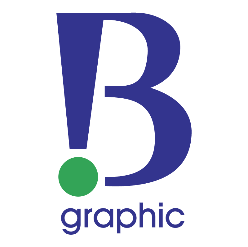 B Graphic vector