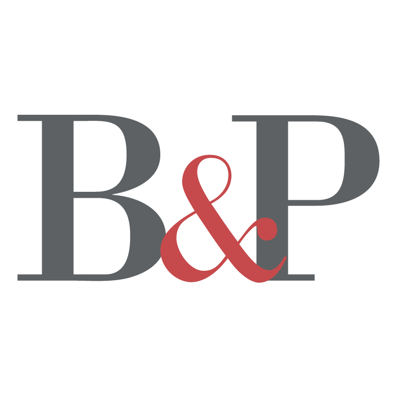 B&P vector logo
