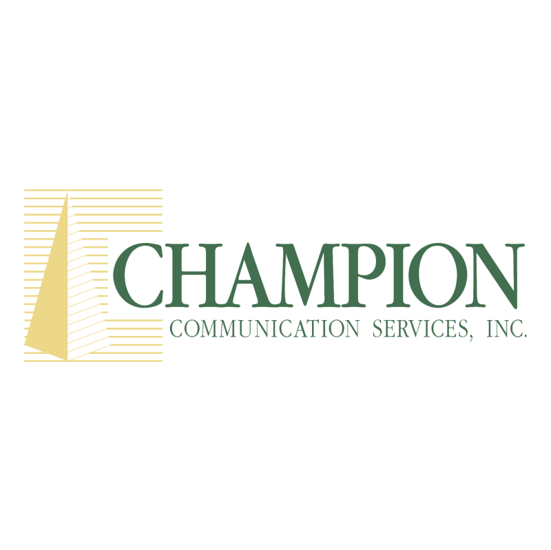Champion Communication Services vector