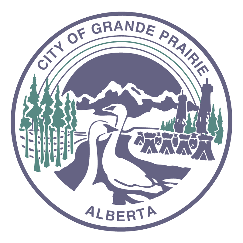 City of Grande Prairie vector logo