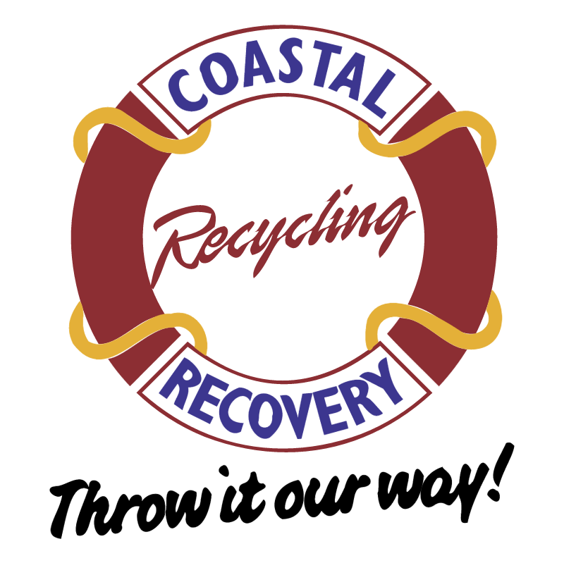 Coastal Recovery Recycling vector