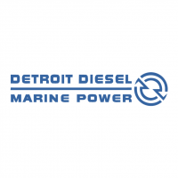 Detroit Diesel Marine Power vector