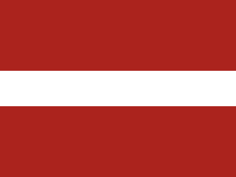 Flag of Latvia vector logo