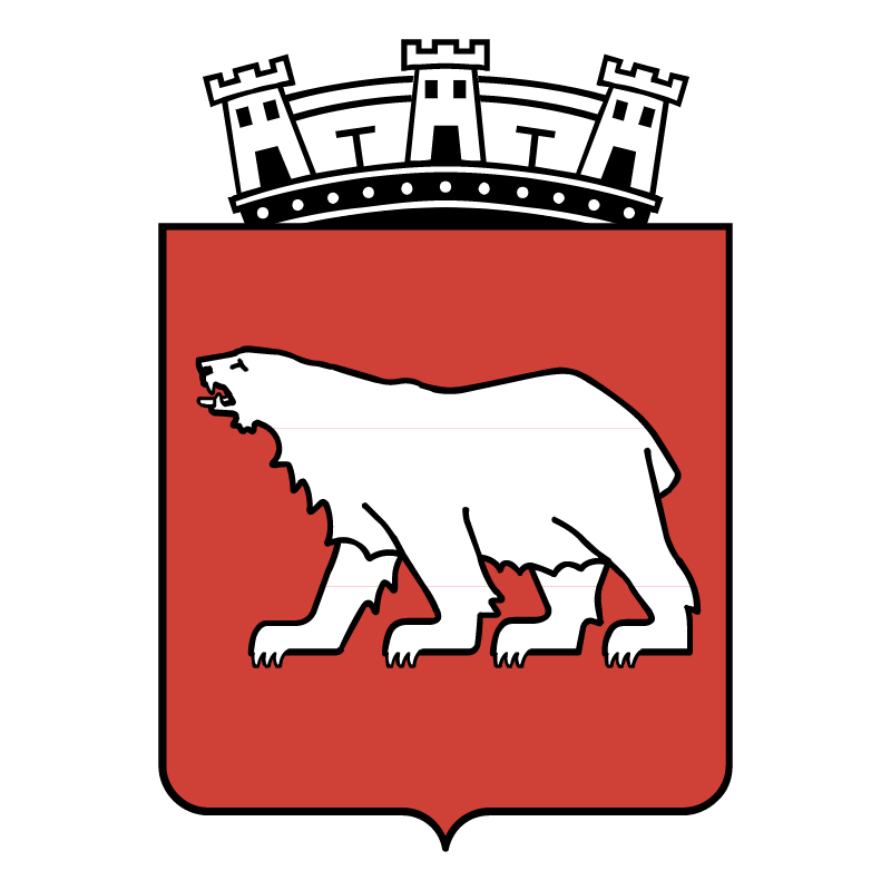 Hammerfest Norway vector logo