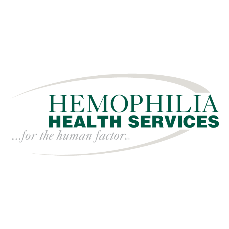 Hemophilia Health Services vector logo
