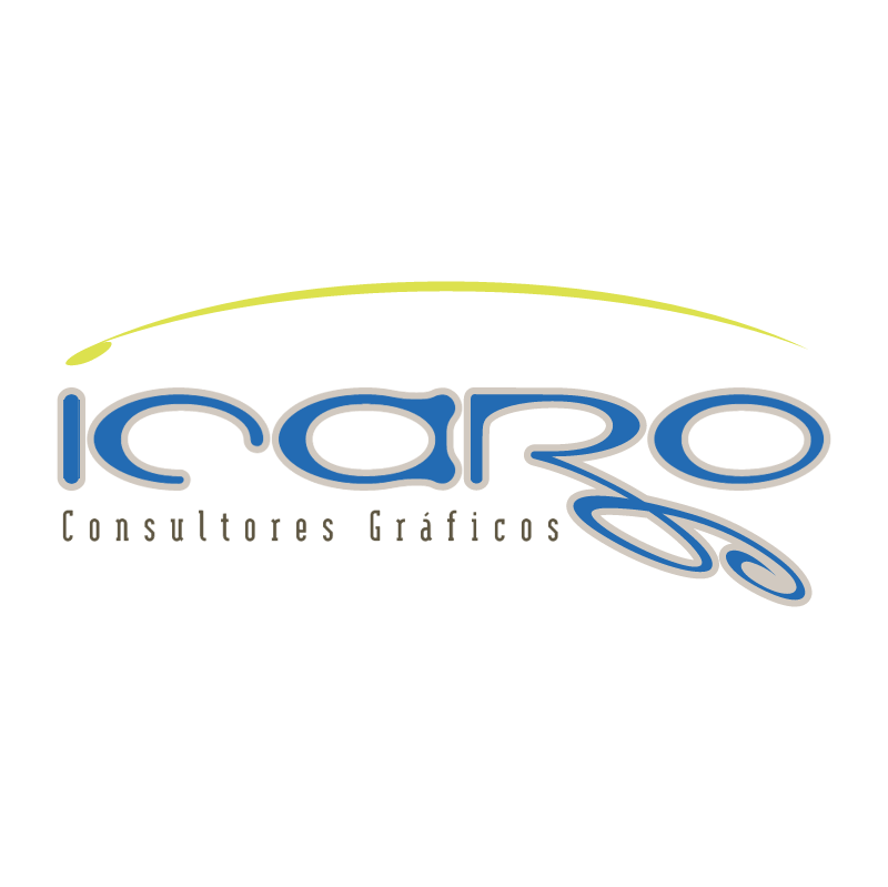 ICARO Graphic design vector