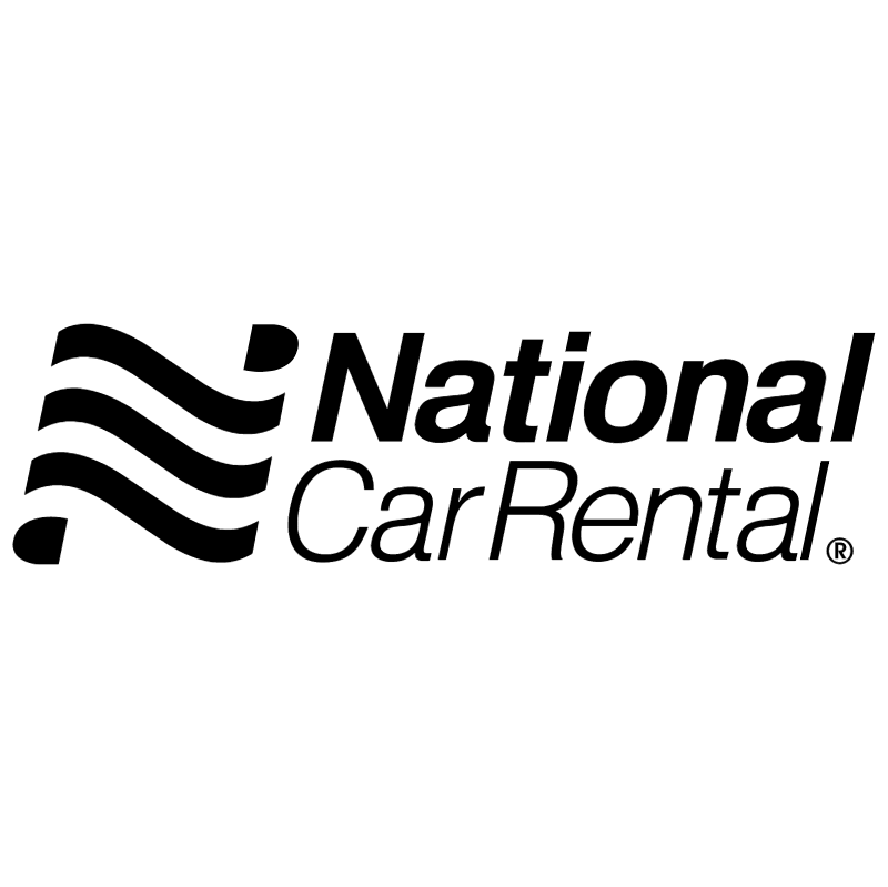 National Car Rental vector