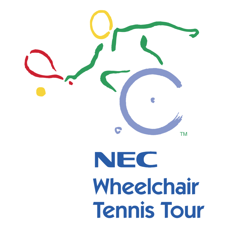 NEC Wheelchair Tennis Tour vector