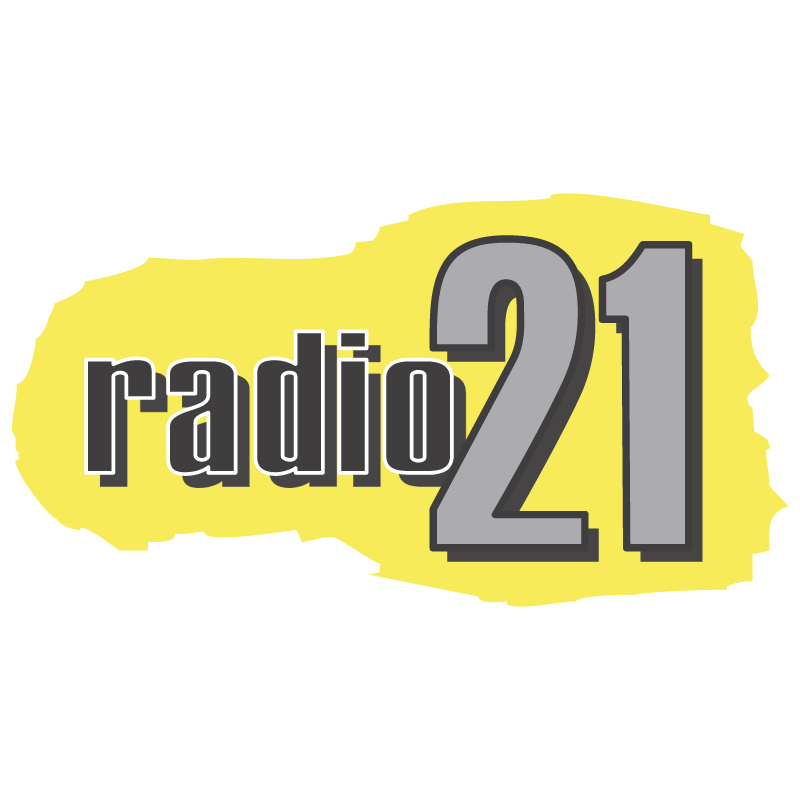 Radio 21 vector logo