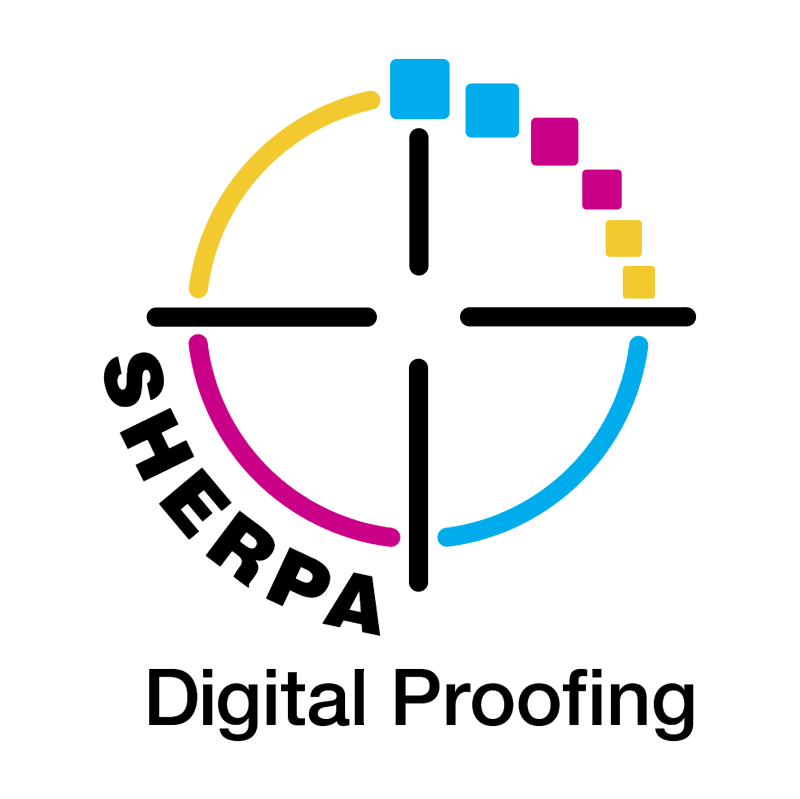 Sherpa Digital Proofing vector
