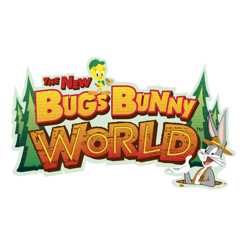 The New Bugs Bunny World vector