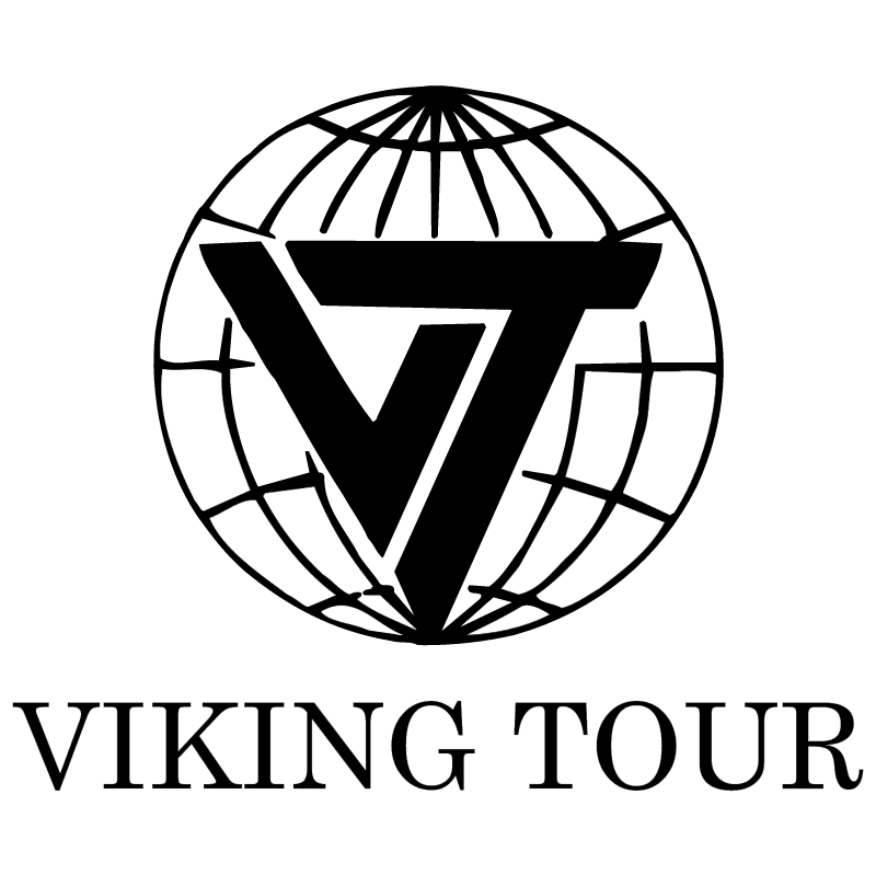 Viking Tour vector logo