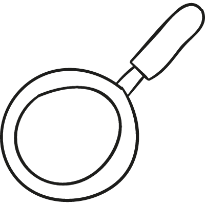Frying Pan From Top vector logo