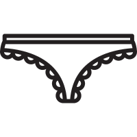 Panties with Laces vector