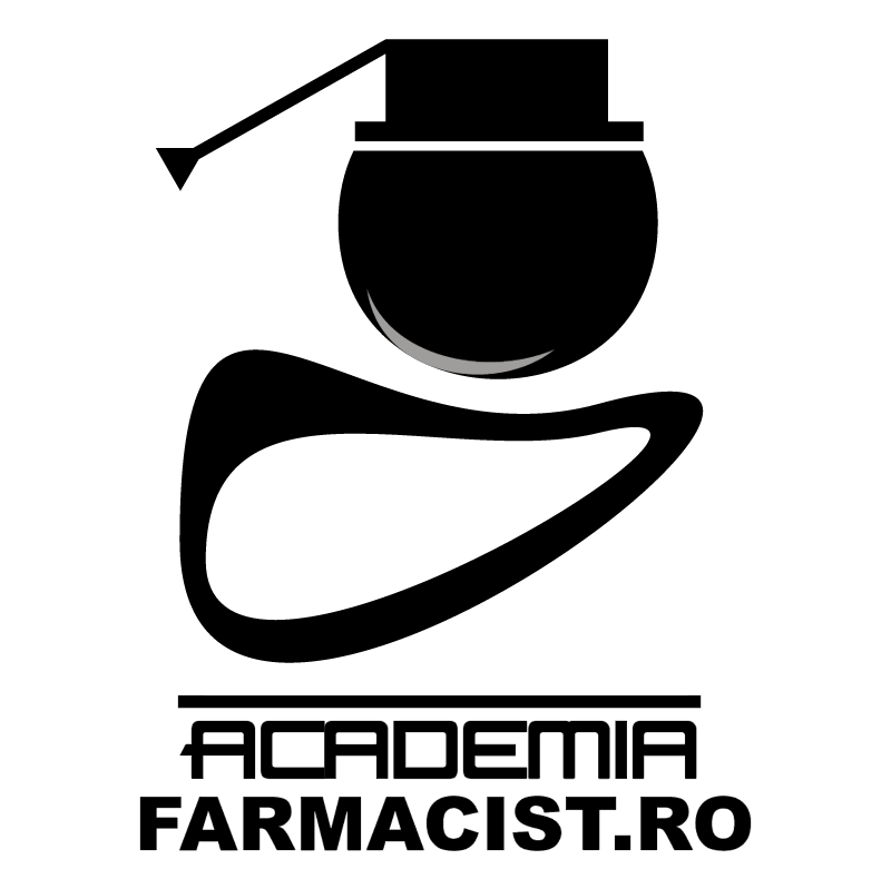 Academia Farmacist ro vector