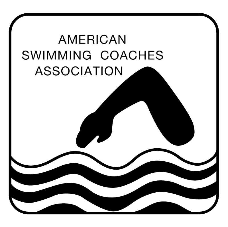 American Swimming Coaches Association 47219 vector logo