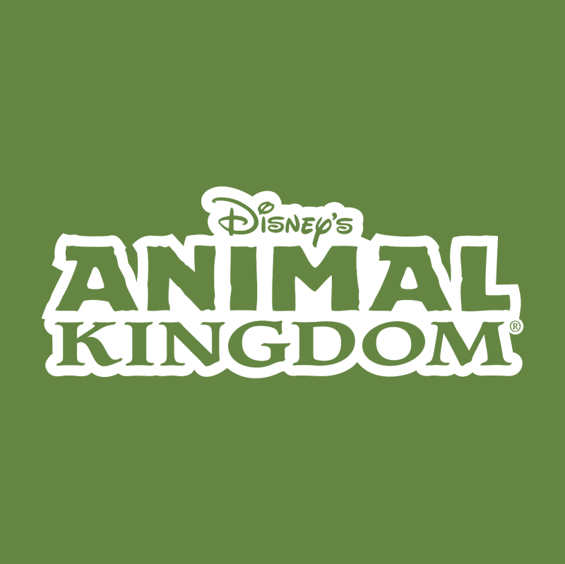 Animal Kingdom vector logo