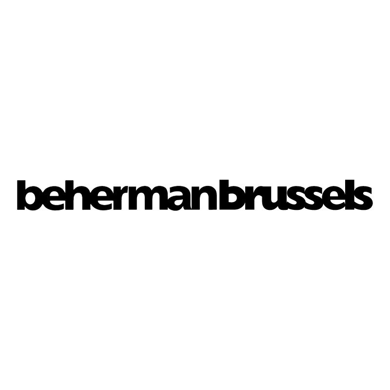 Beherman Brussels vector logo