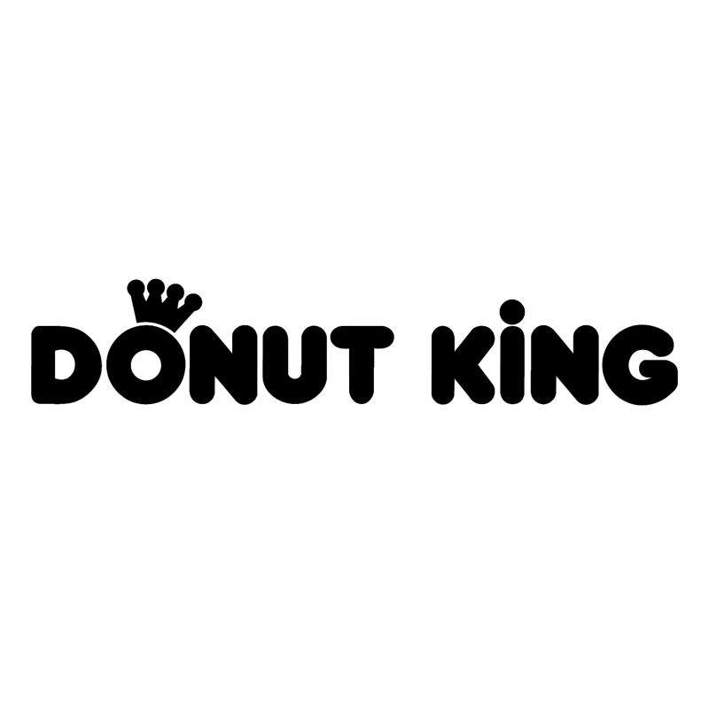 Donut King vector
