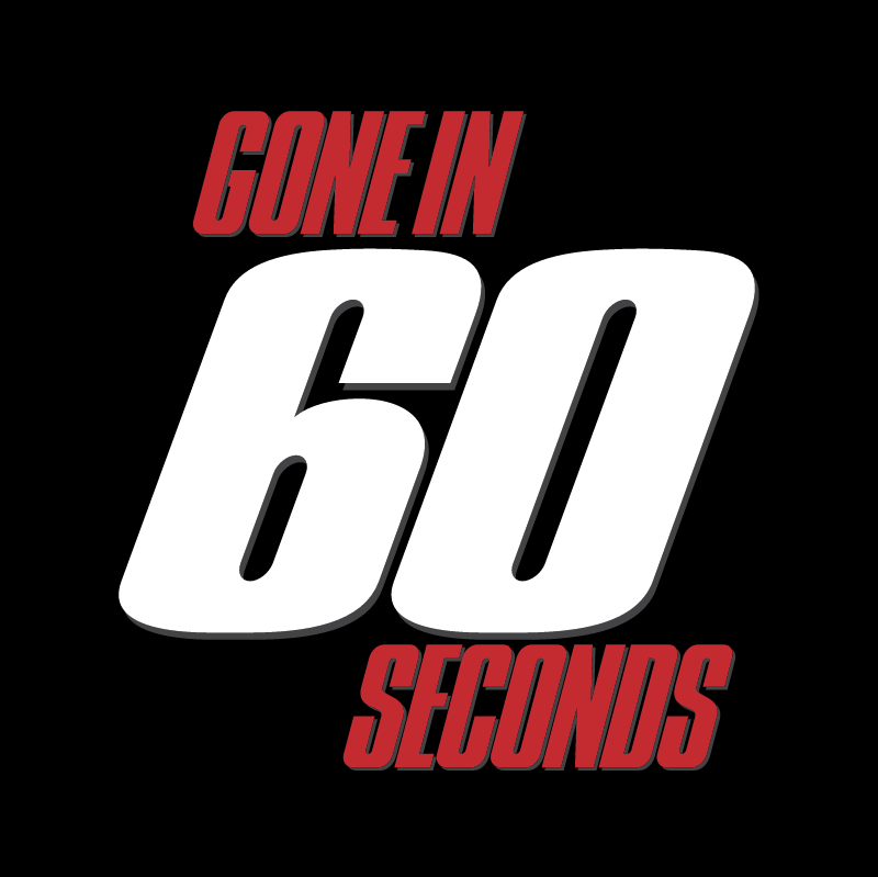 Gone In 60 Seconds vector
