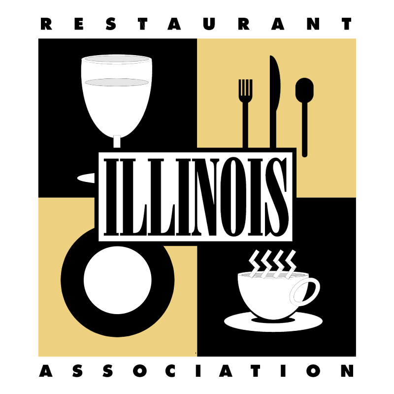 Illinois Restaurant Association vector