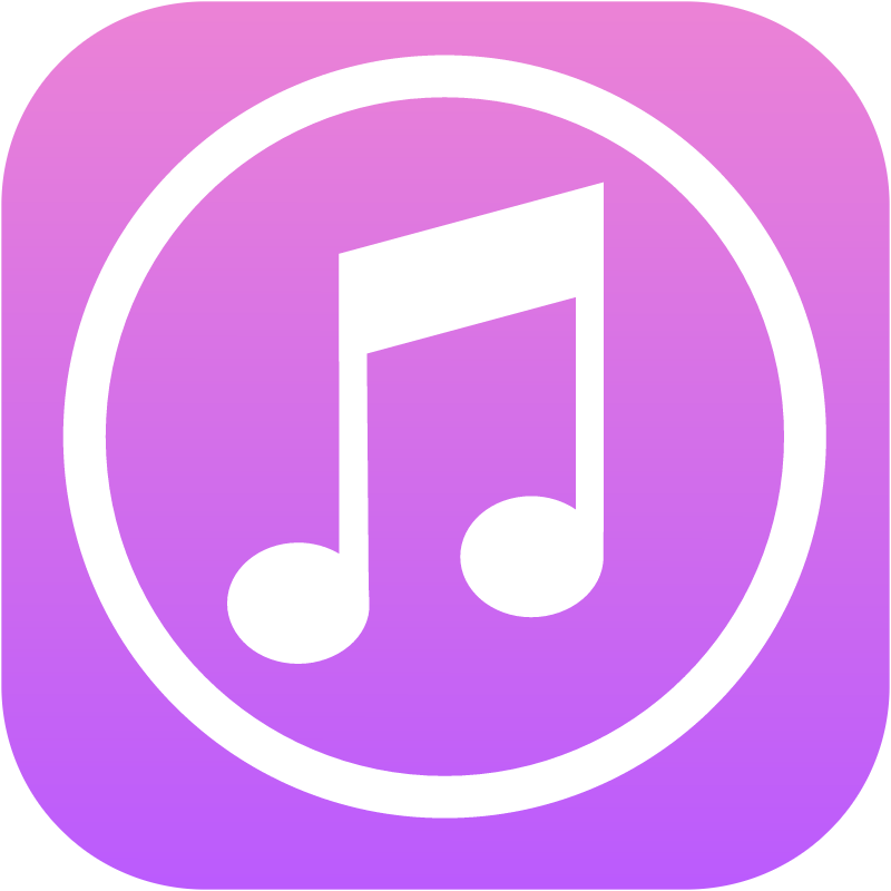 iTunes vector logo