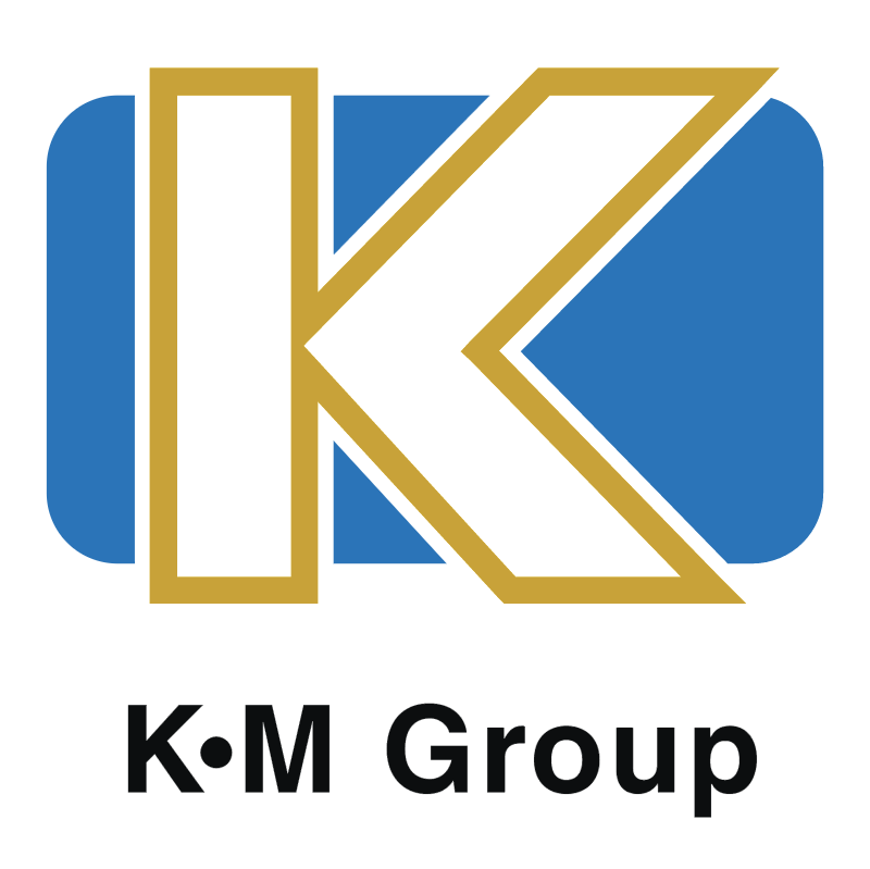 K M Group vector logo