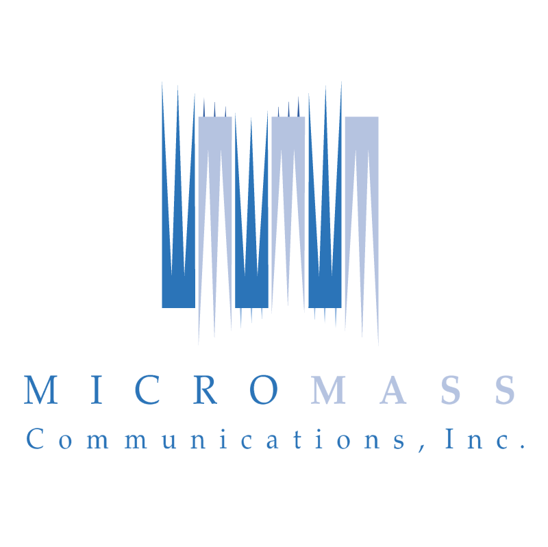 Micromass Communications vector