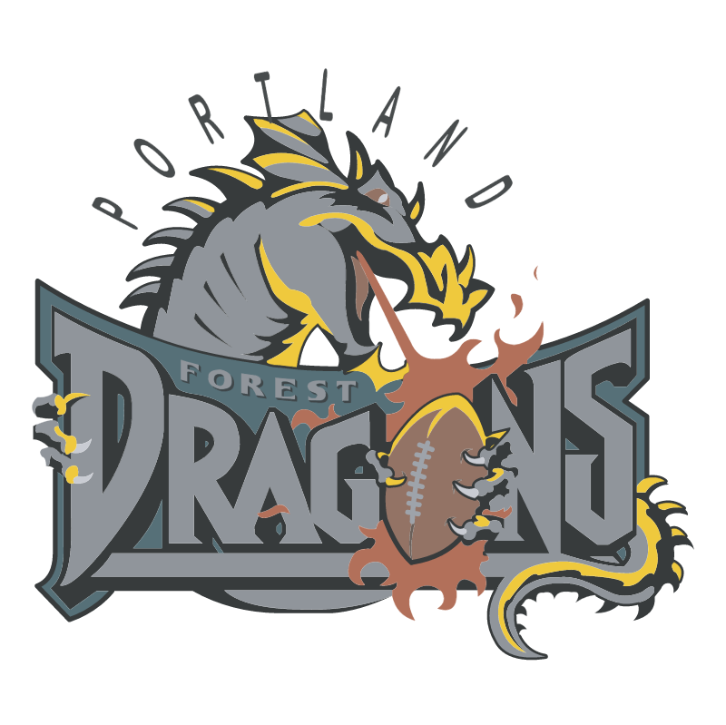 Portland Forest Dragons vector
