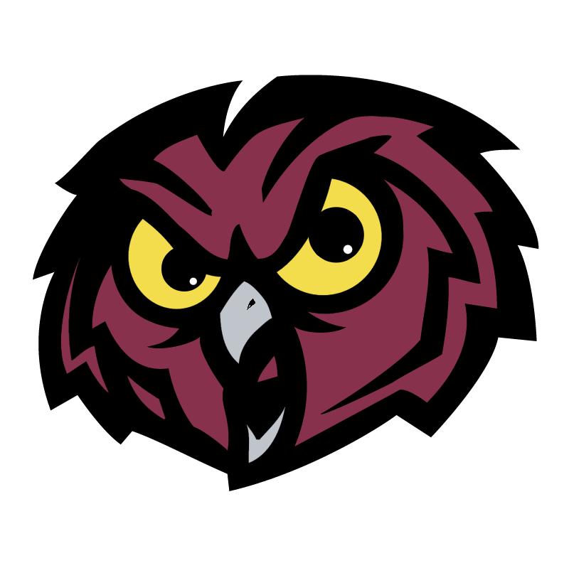 Temple Owls vector logo