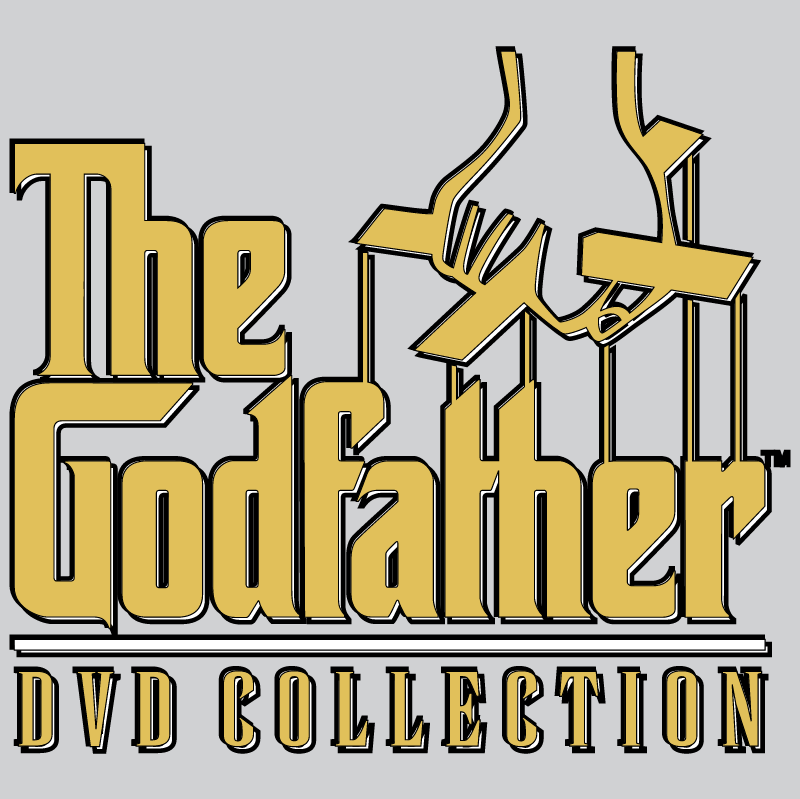 The Godfather DVD Collection vector