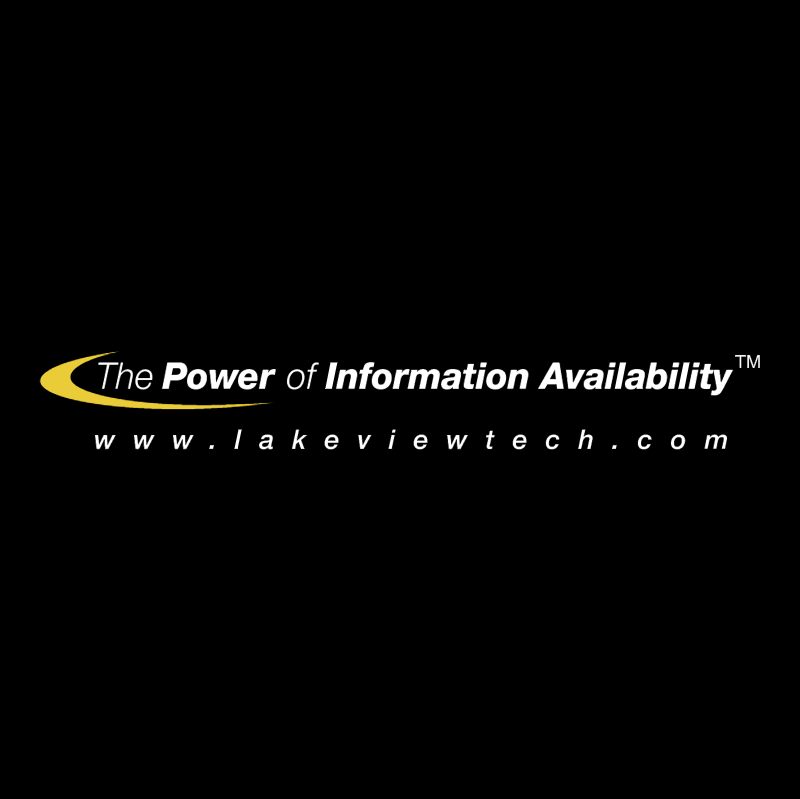The Power of Information Availability vector logo