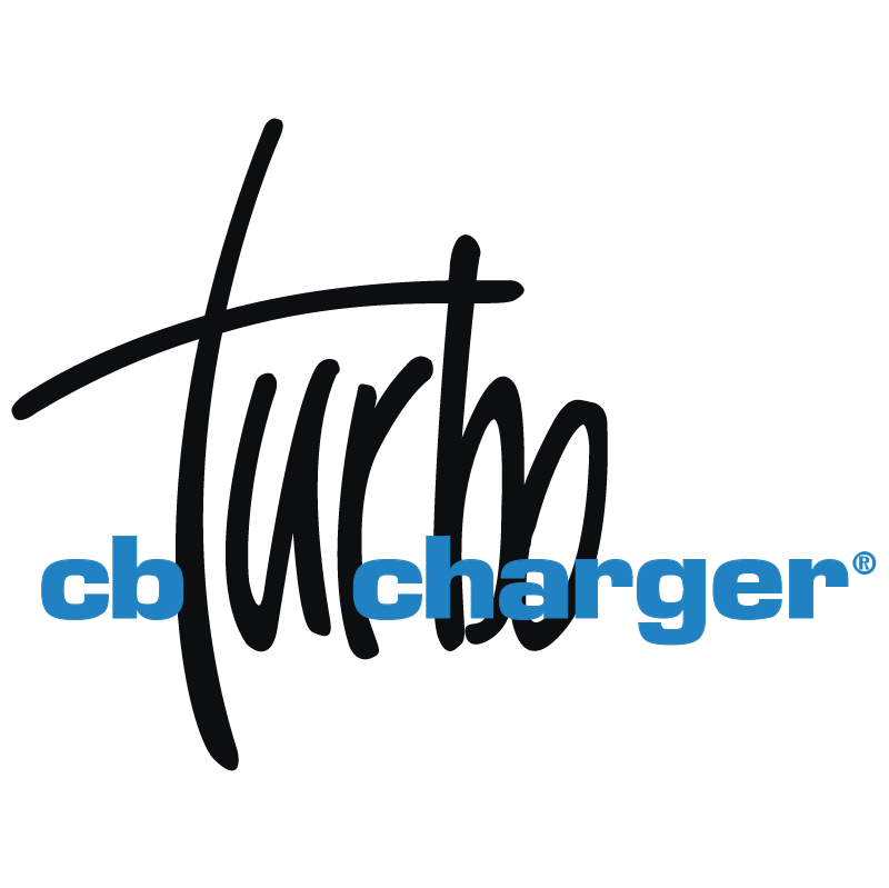 Turbo cb charger vector