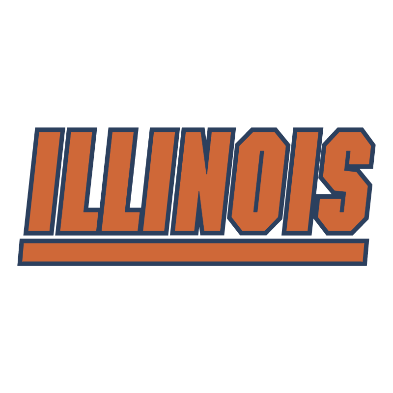 University of Illinois Fighting Illini vector