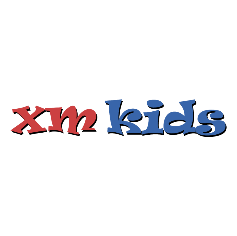 XM Kids vector logo