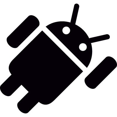 Android Flying vector logo