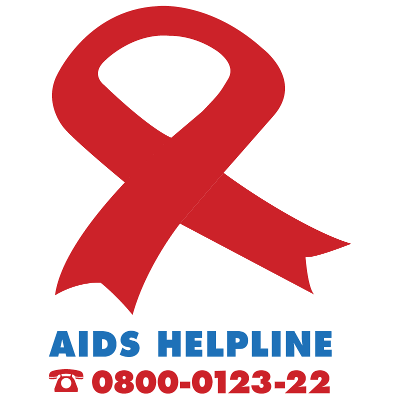 AIDS Helpline 12422 vector