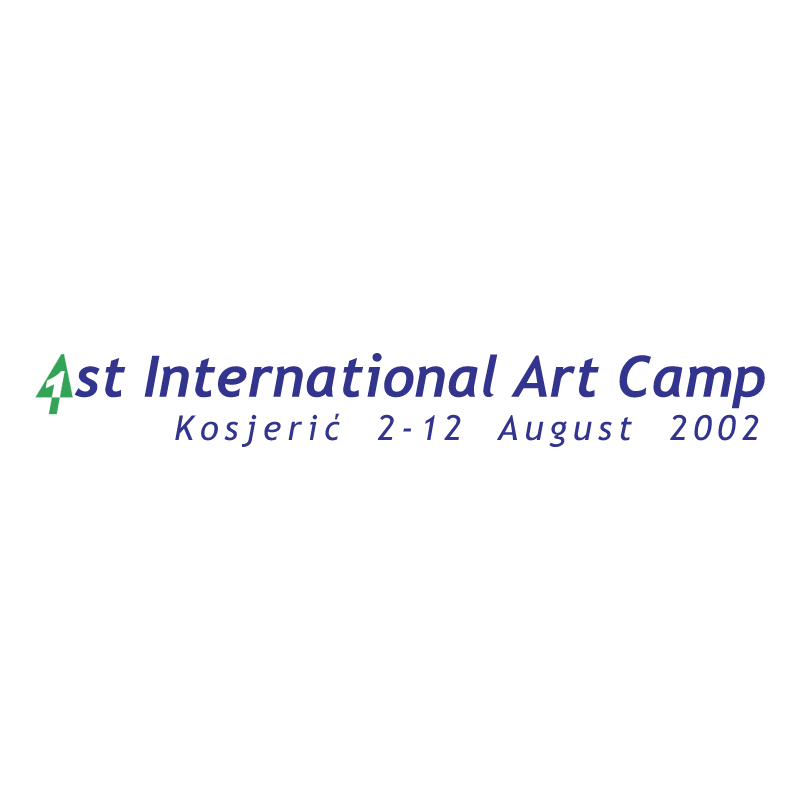 Art Camp Kosjeric vector logo