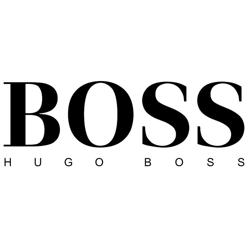 Boss Hugo Boss vector
