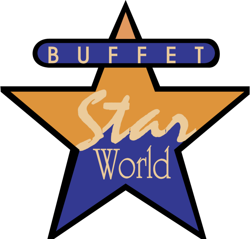 buffet star vector