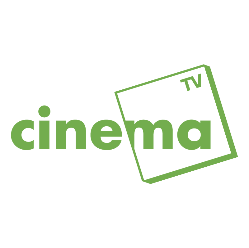 Cinema TV vector logo