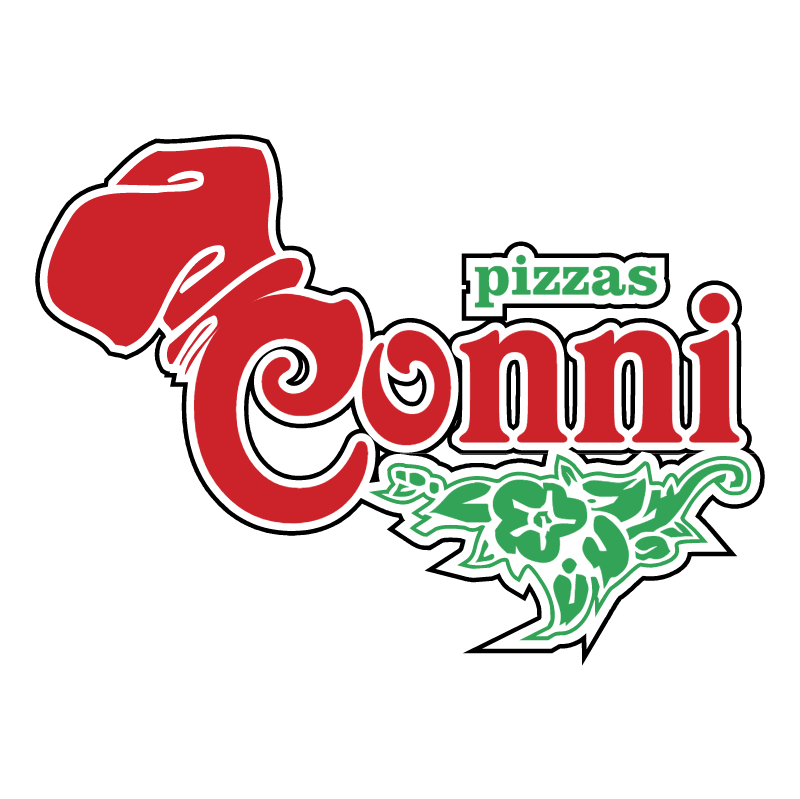 Conni Pizzas vector logo