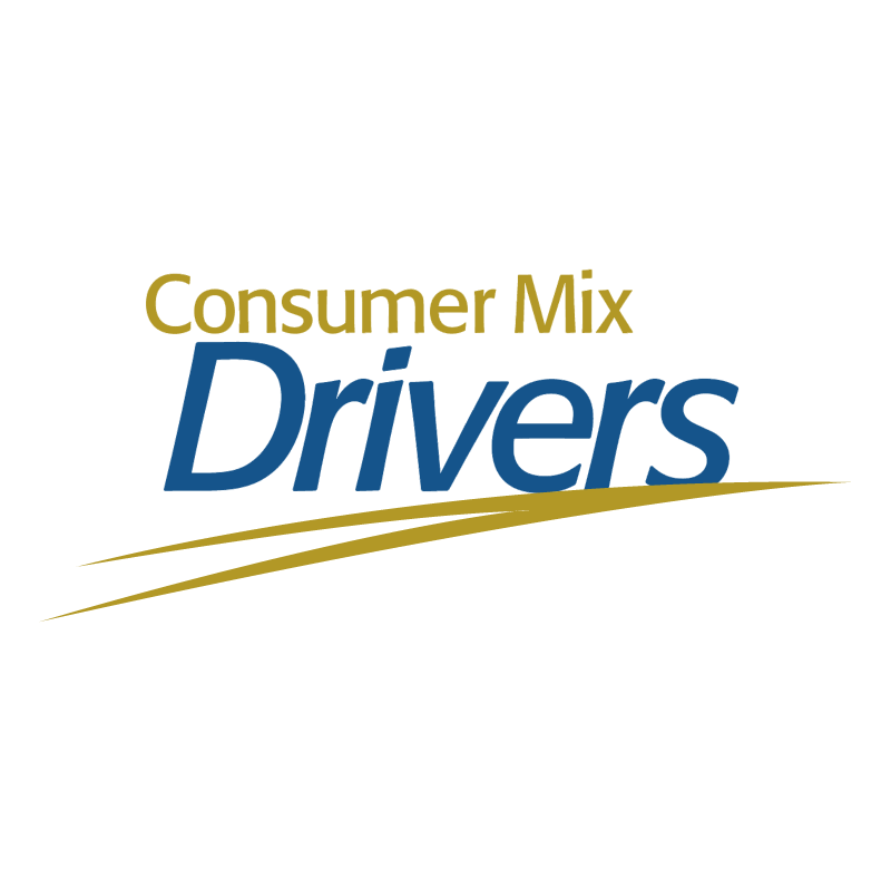 Consumer Mix Drivers vector