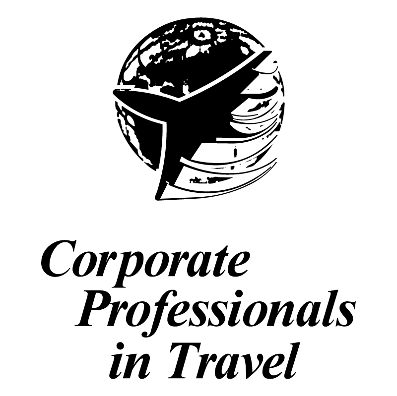 Corporate Professionals in Travel vector logo