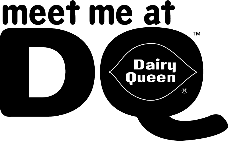 Dairy Queen Meet Me vector