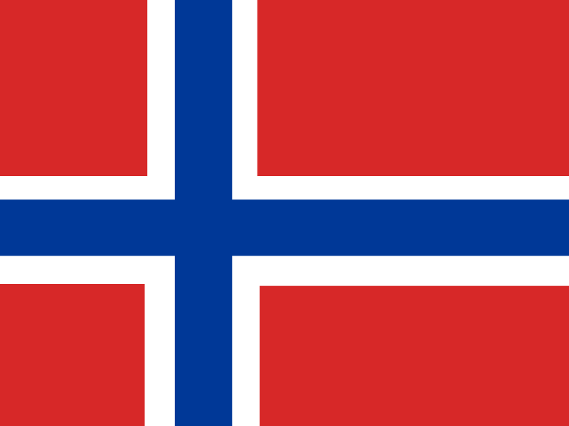 Flag of Bouvet Island vector