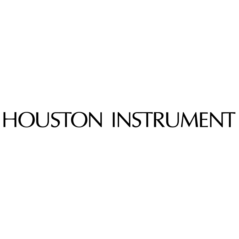 Houston Instrument vector