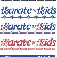 Karate for Kids vector
